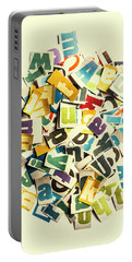 Letters In Jumble Portable Battery Charger