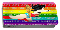 Lgbtq Wonder Women Portable Battery Charger