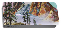 Liberty Bell Mountain Portable Battery Charger by Sherry Shipley
