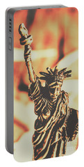 Liberty Will Enlighten The World Portable Battery Charger