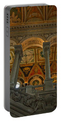 Library Of Congress Staircase Portable Battery Charger