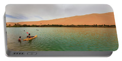 Libyan Oasis Portable Battery Charger