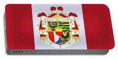 Portable Battery Charger featuring the drawing Liechtenstein Coat Of Arms by Movie Poster Prints