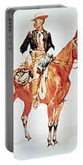 Lieutenant S C Robertson, Chief Of The Crow Scouts Portable Battery Charger