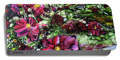 Life In A Bloom Field Portable Battery Charger