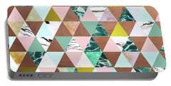 Life In A Pattern Portable Battery Charger by Uma Gokhale