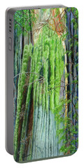 Life In A Redwood Forest Portable Battery Charger