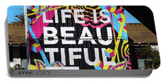 Life Is Beautiful Portable Battery Charger