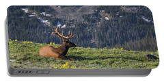 Life Is Good On The Mountain Top Portable Battery Charger
