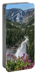 Life Line Of The Valley Portable Battery Charger by Ryan Weddle