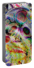 Portable Battery Charger featuring the digital art Life Of The Party by Kiki Art