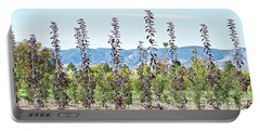 Life On A Tree Farm-foothills View #1 Portable Battery Charger