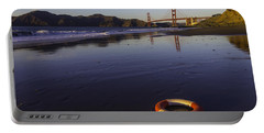 Life Ring And Golden Gate Bridge Portable Battery Charger