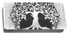 Life Tree. Life Is Like A Tree Portable Battery Charger by Gina Dsgn