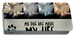 Life With My Dog Portable Battery Charger