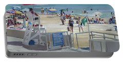 Lifeguard On Duty Portable Battery Charger