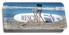 Lifeguard Surfboard Rescue Station  Portable Battery Charger