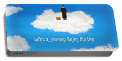 Life's A Journey Greeting Card Portable Battery Charger