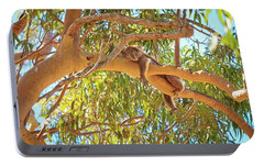 Portable Battery Charger featuring the photograph Life's Hard, Yanchep National Park by Dave Catley