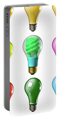 Light Bulbs Of A Different Color Portable Battery Charger