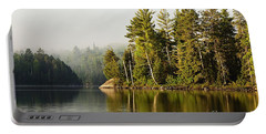 Light Fog On Slim Lake Portable Battery Charger