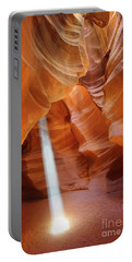 Light In Antelope Canyon Portable Battery Charger