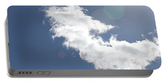 Light In Cloud Flare Portable Battery Charger