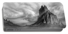 Light On Shiprock Portable Battery Charger