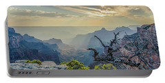 Light Seeks The Depths Of Grand Canyon Portable Battery Charger