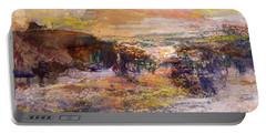 Light Show At Dawn Portable Battery Charger by Nancy Kane Chapman