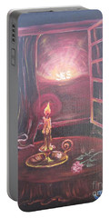 Flying Lamb Productions      Light The Yes Candle Portable Battery Charger