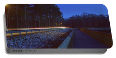Light Trails On Elbow Road Portable Battery Charger