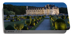 Lighted Gardens Of Chenonceau Portable Battery Charger
