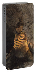 Lighted Stalagmite Portable Battery Charger by James Gay