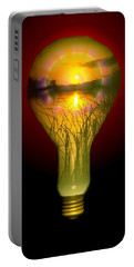 Lighthearted Sunset Portable Battery Charger