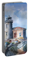 Lighthouse At Bandon Portable Battery Charger