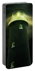 Lighthouse At Night Portable Battery Charger
