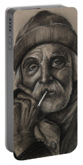 Lighthouse Keeper Portable Battery Charger by Jean Cormier