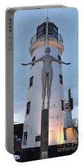 Lighthouse Lady Portable Battery Charger