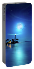 Lighthouse Moon Portable Battery Charger