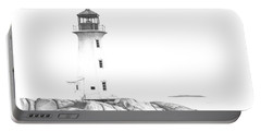 Lighthouse Of Peggy's Cove Portable Battery Charger