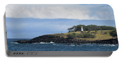 Portable Battery Charger featuring the photograph Lighthouse by Pamela Walton