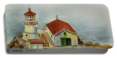 Lighthouse Point Reyes California Portable Battery Charger