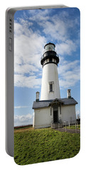 Portable Battery Charger featuring the photograph Lighthouse View by Mary Jo Allen