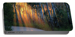 Portable Battery Charger featuring the photograph Lighting The Way by Shane Bechler