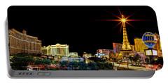 Lighting Up Vegas Portable Battery Charger