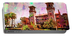 Lightner Museum St Augustine Florida Portable Battery Charger by Bob Pardue