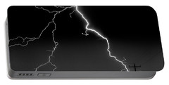 Lightning Bolt Portable Battery Charger