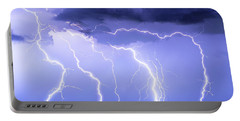 Lightning On The Plains Portable Battery Charger
