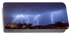 Lightning Over Laveen Portable Battery Charger